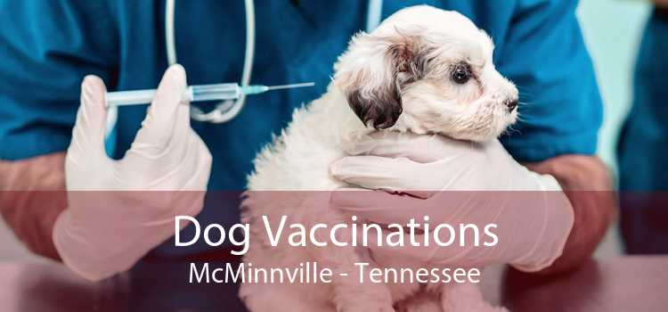 Dog Vaccinations McMinnville - Tennessee