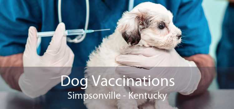 Dog Vaccinations Simpsonville - Kentucky
