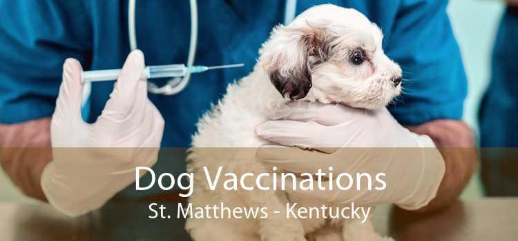 Dog Vaccinations St. Matthews - Kentucky