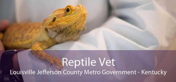 Reptile Vet Louisville Jefferson County Metro Government - Kentucky