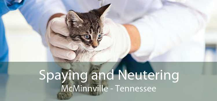 Spaying and Neutering McMinnville - Tennessee