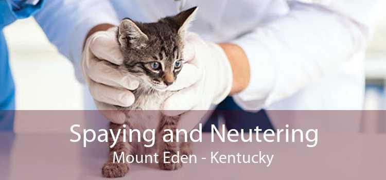 Spaying and Neutering Mount Eden - Kentucky